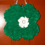 shamrock wreath_flower
