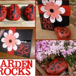 ladybugs_garden rock collage