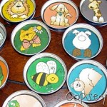 baby food jar lids_group