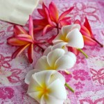 make a lei_fresh flowers