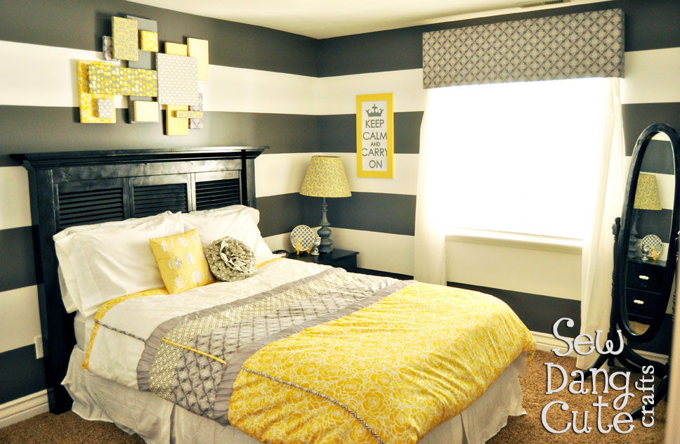 Yellow Guest Bedroom Ideas Interesting 70+ Yellow Gray Room Decorating  Ideas Decorating