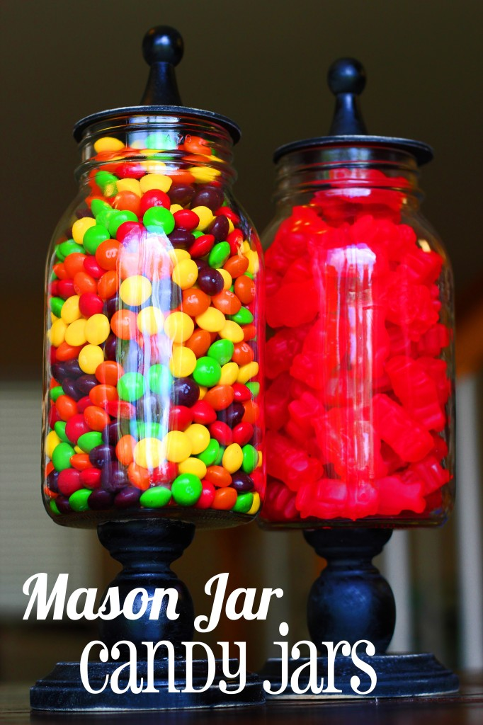 Mason Jar Candy Jars Tutorial Oopsey Daisy