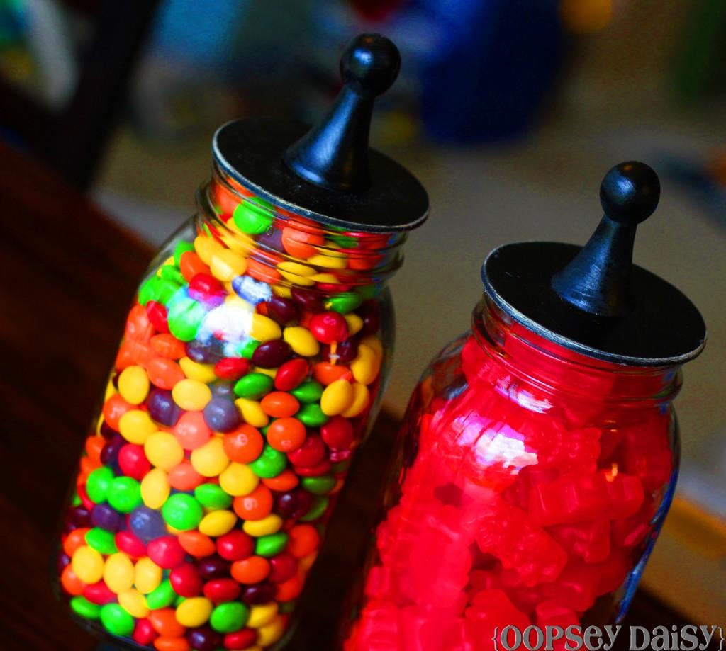 Candy Jar: Mason Jar Apothecary Jars