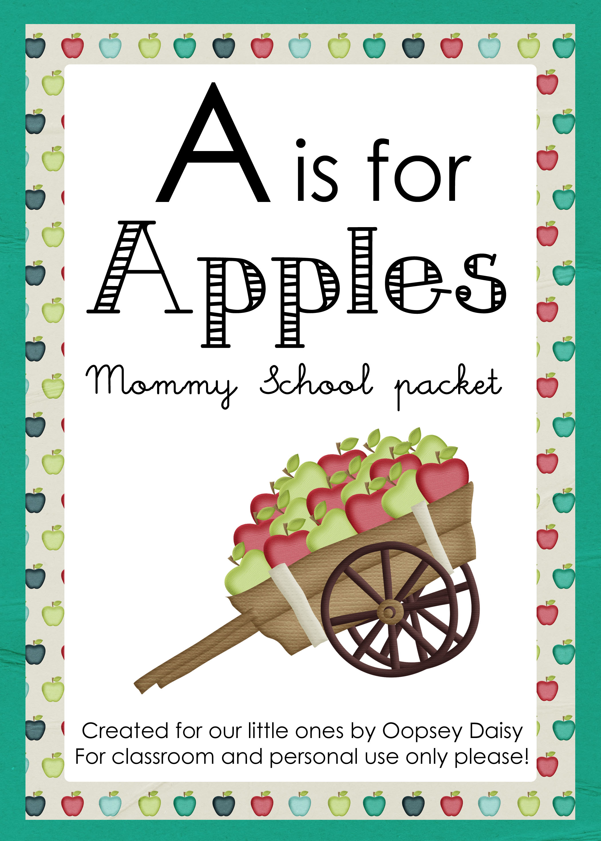 A Is For Apples
