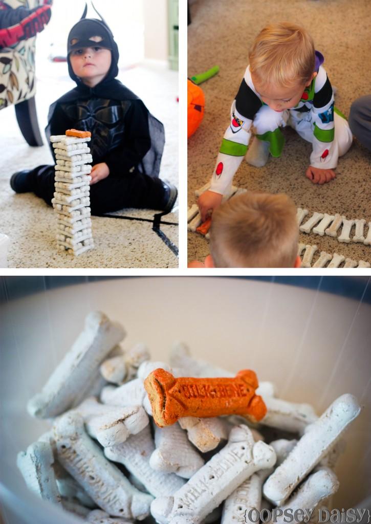 Dog Eating Paper Towerls
