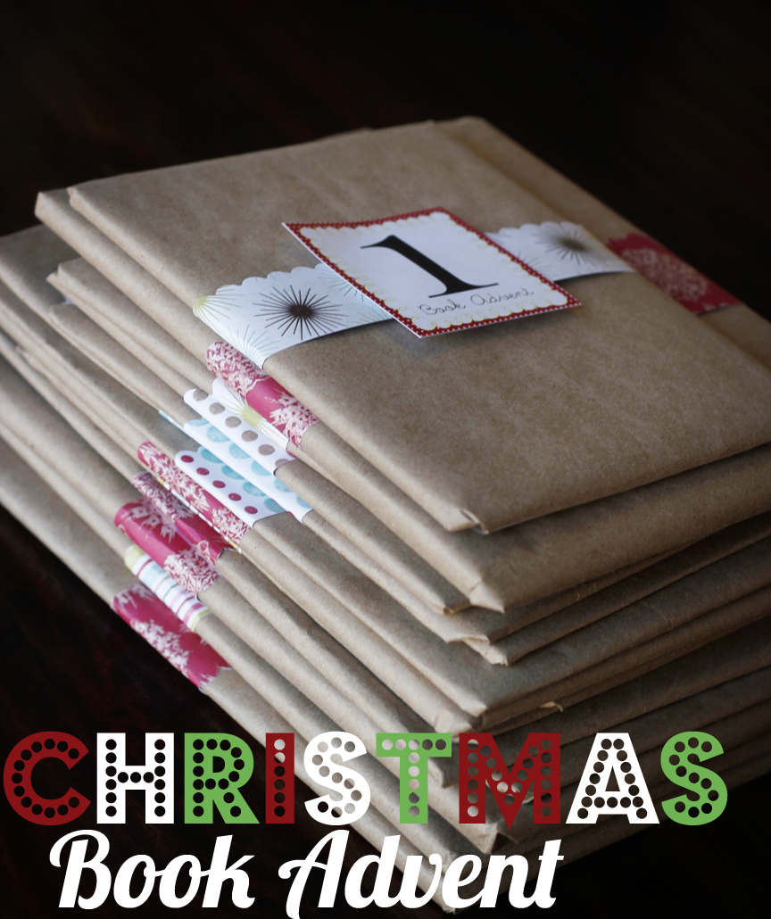 Advent Calendar Wrapping Ideas : Christmas book advent oopsey daisy