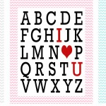 ABC valentine_chevron