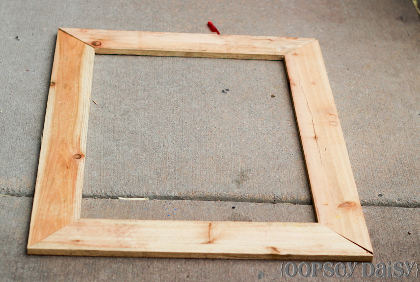 Woodwork Diy Wood Picture Frame Pdf Plans