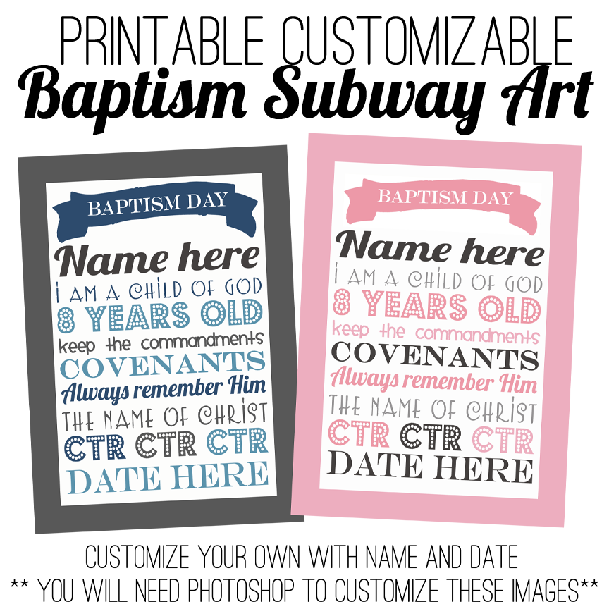 Lds Baptism Invitations for beautiful invitation design