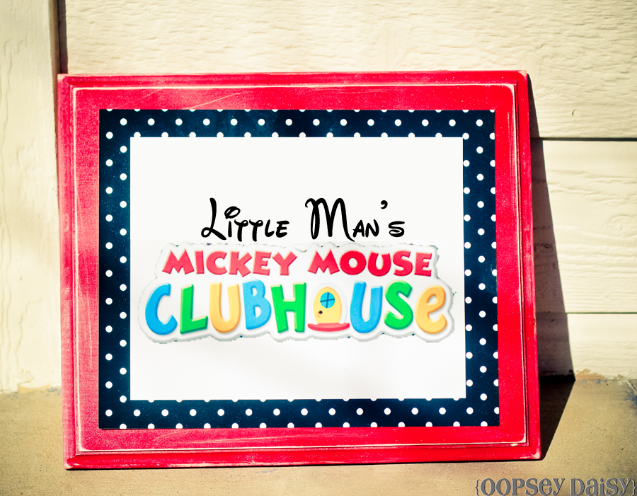 Mickey Mouse Birthday Party | Oopsey Daisy