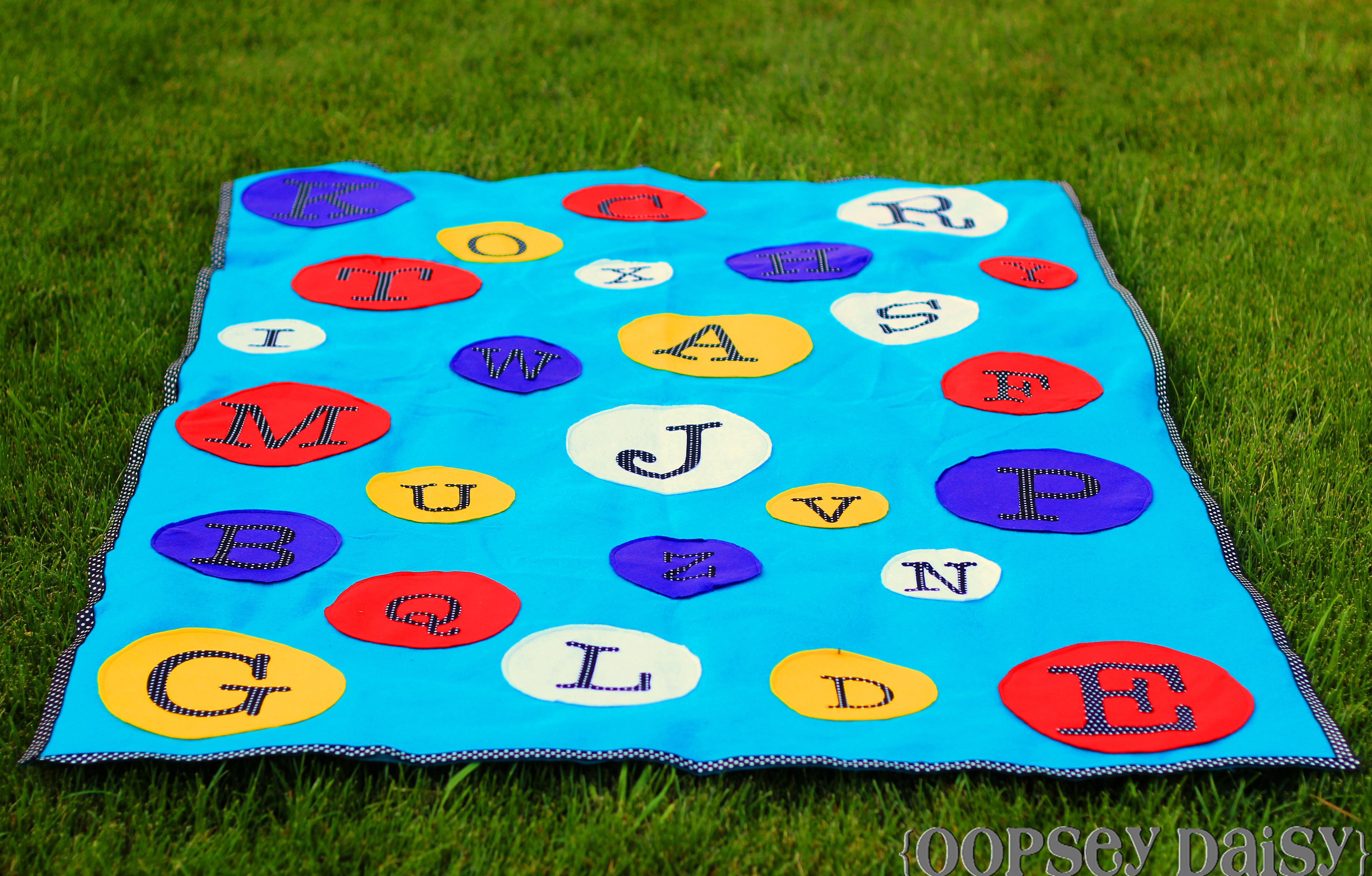 Make Your Own ABC Mat