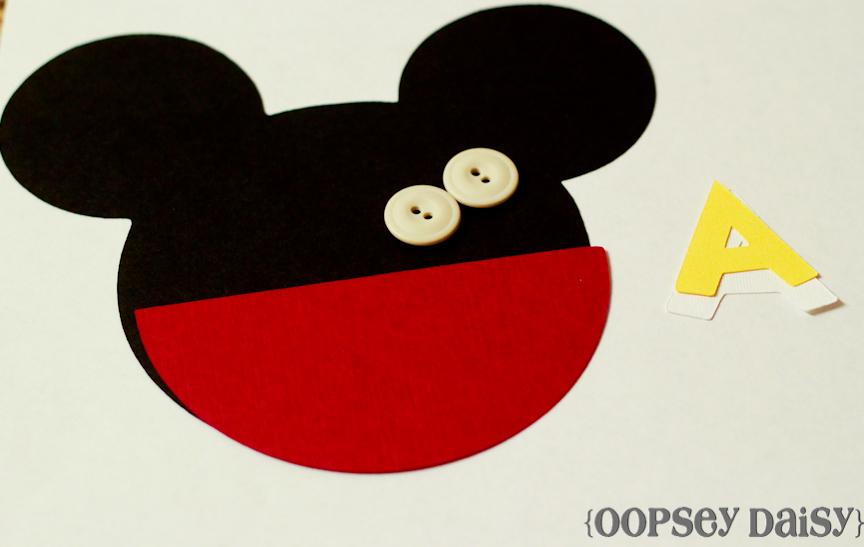 Convite Do Mickey